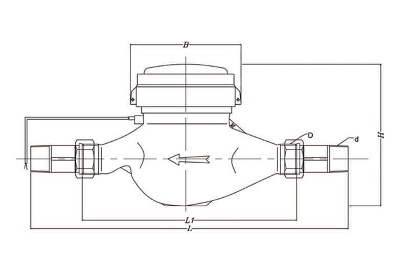 光电直读远传bob体育网址  LXSY-15~40