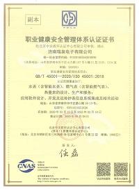 职业健康安全管理体系认证(中文副本)